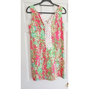 Lilli Pulitzer Size 0 floral shift dress
